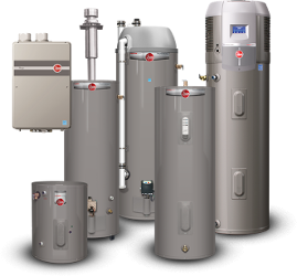 Rheem Water Heaters - Plumbing Naples Florida